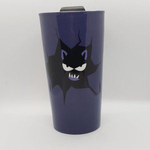 David's Tea Purple Halloween Ceramic Travel Cup